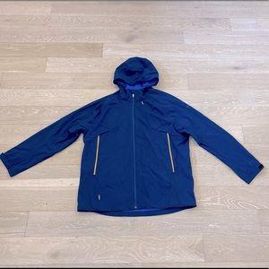 Icebreaker soft shell wool lined hooded jacket 2XL